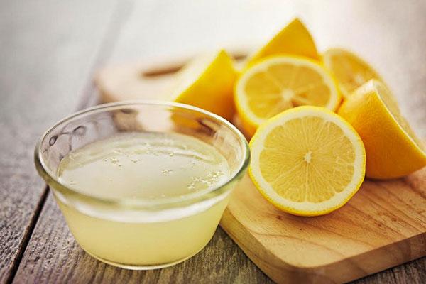 Rely on lemon juice