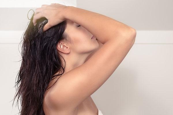 Massage your scalp