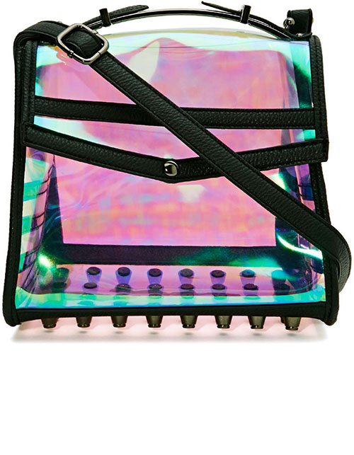MAKE A CLEAR STATEMENT WITH THESE TRANSPARENT BAGS