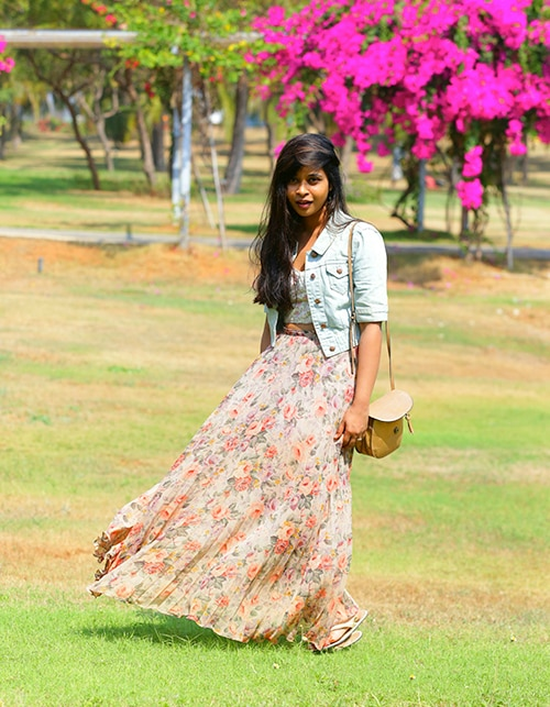 Maxi skirt face-off: Blogger Special