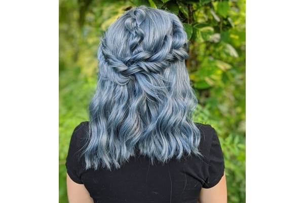 02. Khaleesi braids