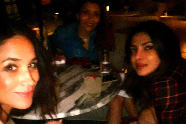 She's friends with Priyanka Chopra