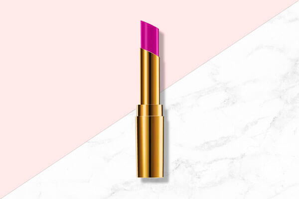 Finish off with a pop of colour on your lips