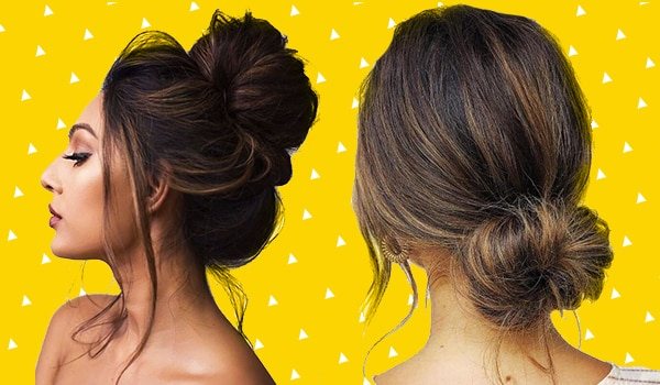 Stylish and chic messy bun hairstyles for all hair lengths
