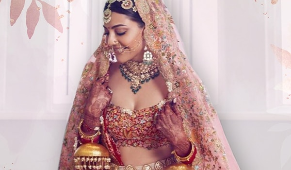 Beautiful bridal looks from Kajal Aggarwal that had us pining for more