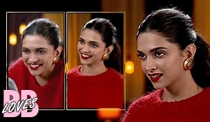 Lady in red: A lesson in monochrome dressing by Deepika Padukone on Famously Filmfare