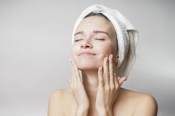 Keep your face clean and oil-free