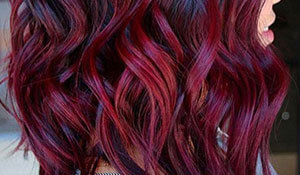 Trend alert: Mulled wine hair colour