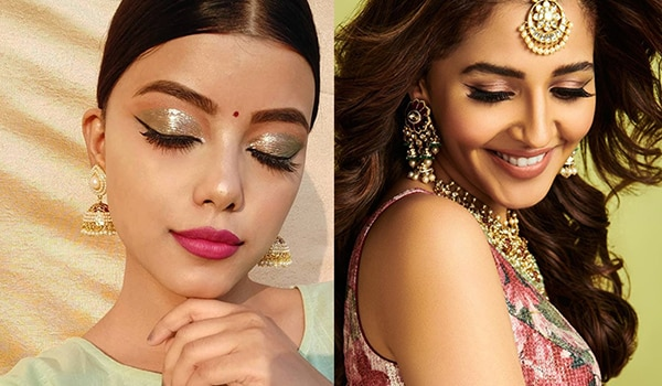 How to create multiple eye makeup looks for all your wedding festivities using one eyeshadow palette