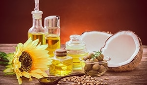 Natural oils for common hair concerns