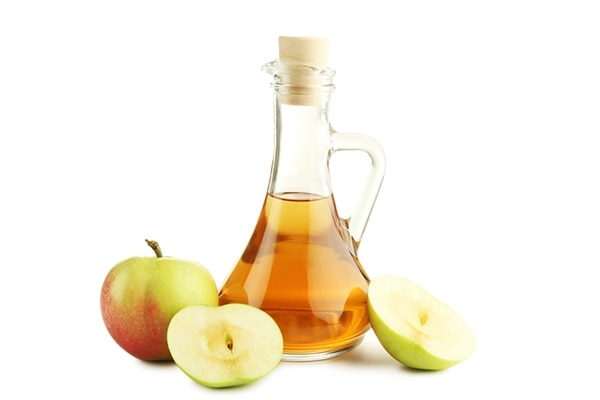 Apple cider vinegar for remove red spots on skin