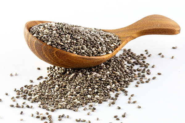 Chia seeds great for hair