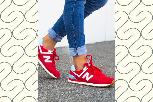new balances iconic 574 sneaker