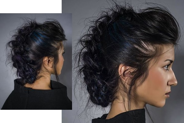 new year party hairstyles