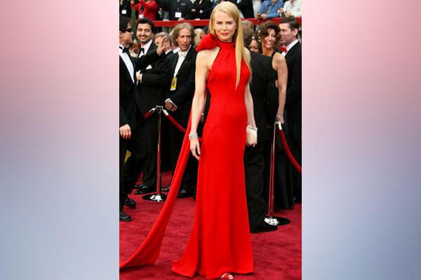 3. Nicole Kidman – Oscars 2007