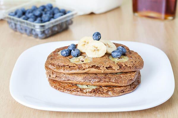 4. Oatmeal Pancakes