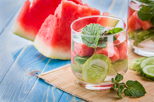 Reach out for hydrating fruits