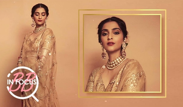 Channel old-world glam with soft, blurry lips like Sonam Kapoor Ahuja