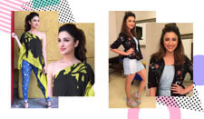 PARINEETI CHOPRA'S BEST HAIR AND MAKEUP LOOKS FROM MERI PYAARI BINDU PROMOTIONS