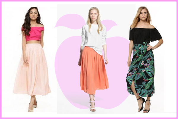 perfect skirt for apple body type 600x400