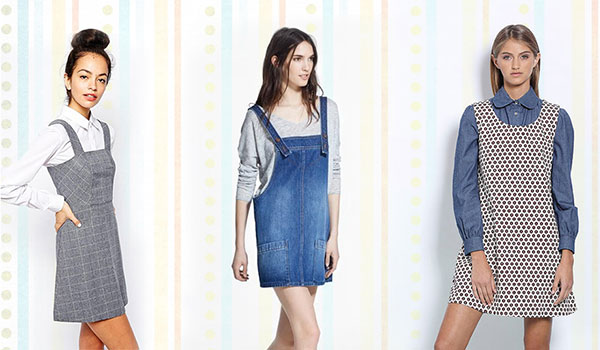 PINAFORE DRESSES THAT ARE TAKING CUTE TO A WHOLE NEW LEVEL