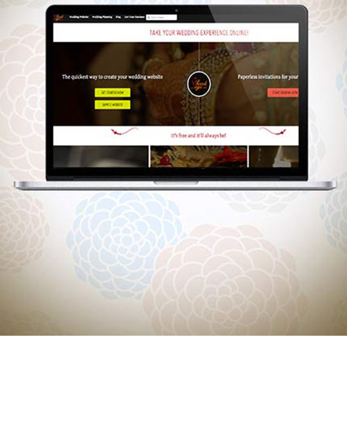 TAKE YOUR WEDDING EXPERIENCE ONLINE WITH YOUR OWN WEBSITE