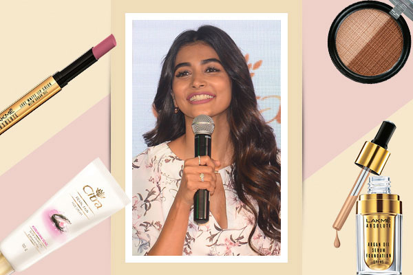 pooja hegdes makeup look from citra launch
