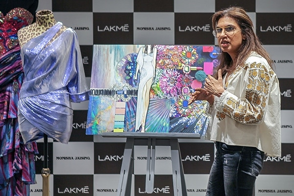 BB: You just unveiled a few garments from your finale collection