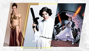 Princess Leia's iconic Star Wars looks are a beauty legacy - BRB *fangirling*