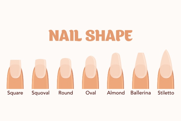 Step 1: Start with pick the correct nail shape