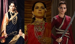 From 'Queen' to the 'Queen of Jhansi', Kangana Ranaut's evolved hair looks