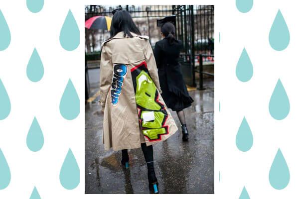 rainy day formal look