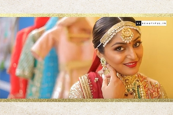 real bride filmy dulhan traditional makeover