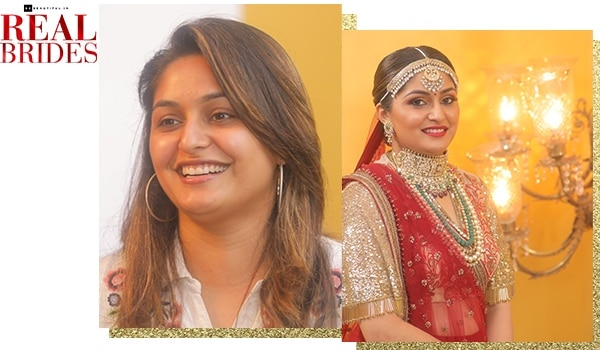 Real brides: Watch how 'filmy' dulhan Yashvi Shukla gets a traditional bridal makeover