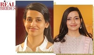 Real brides: makeup newbie Rekha Navani gets a bridal reception look makeover