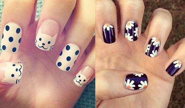 REFRESHING NAIL ART IDEAS TO BRIGHTEN UP DULL DAYS