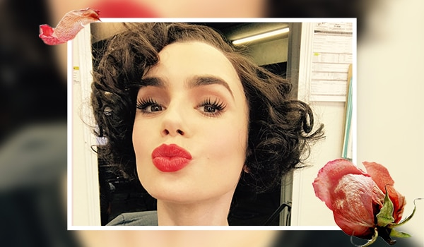 How to create the classic rosebud lip look