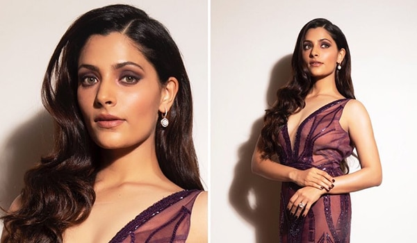 Saiyami Kher's dramatic eye makeup has got us staring in awe
