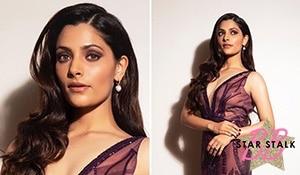 Saiyami Kher's dramatic eye makeup has got us staring in awe