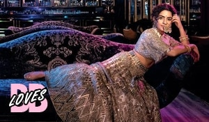 BB Loves:  Sanya Malhotra's contemporary bridal look on Femina Wedding Times