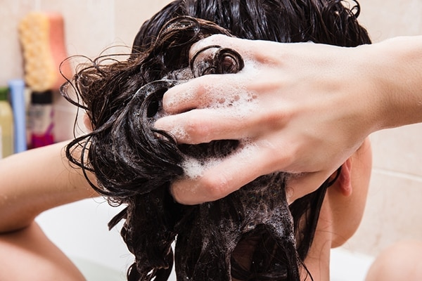 Don't wash your hair immediately