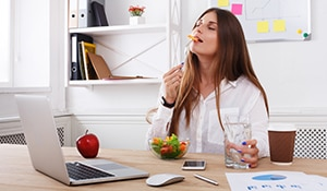A diet plan for working individuals
