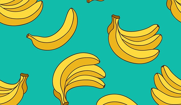 COULD BANANAS BE THE SECRET TO SHINIER HAIR?