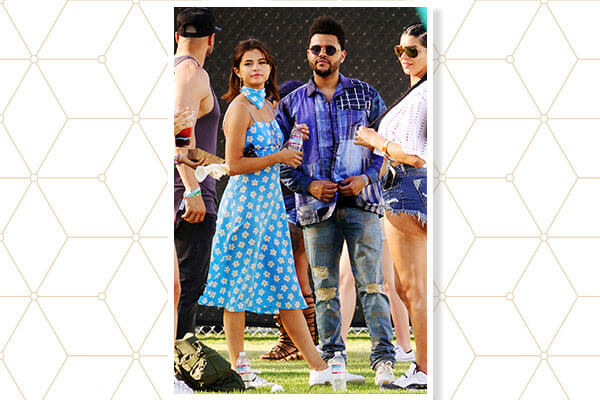 When they were spotted at music fests together…