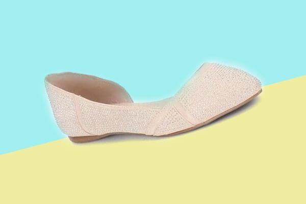 shimmery shoe