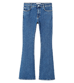 Belt relaxed jeans