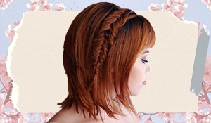 Cute braid hairstyles for short hair to try this summer