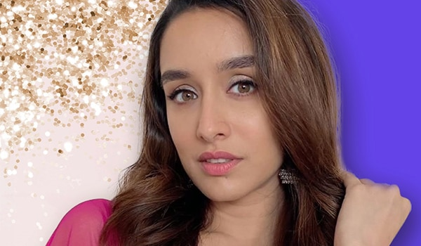 Get the look: Shraddha Kapoor's shimmery festive look for makeup minimalists