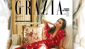 Shraddha Kapoor sizzles in monochrome makeup on Grazia's August cover