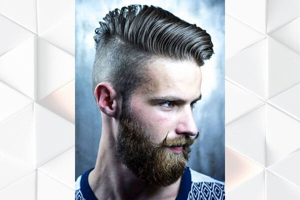 How To Style A Quiff Hairstyle Bebeautiful